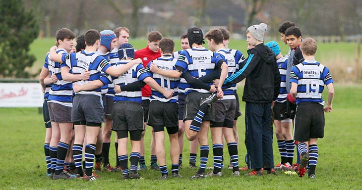 Junior rugby at Driffield RUFC