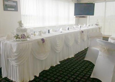 Beautiful Top Table Wedding