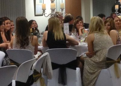 Ladies Enjoying Wedding Reception