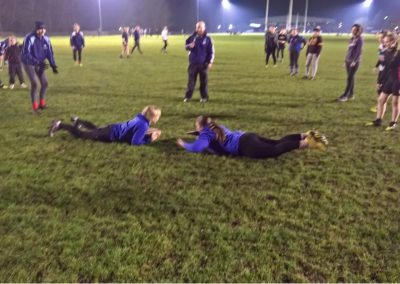 Ladies Rugby Training