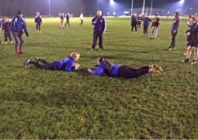 Ladies Rugby Training