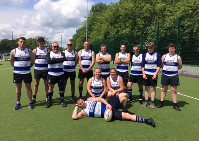 O2 Touch Rugby Team