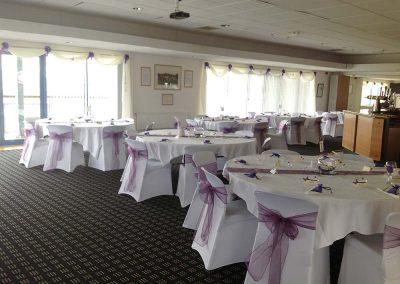 Purple Wedding Layout