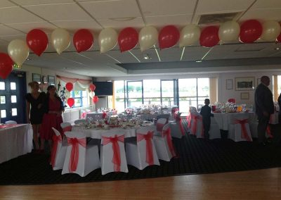 Red Wedding Balloons